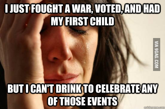 American First World Problems