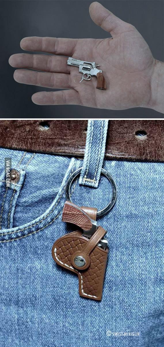 World's tiniest revolver
