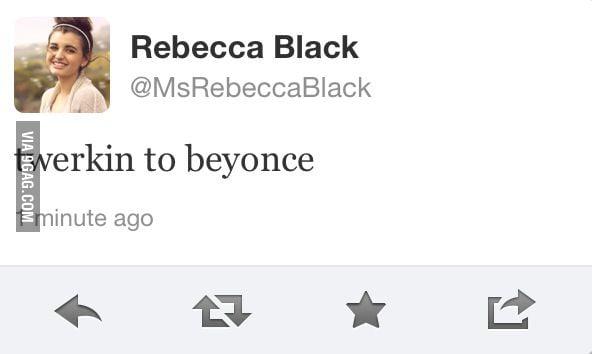 Twerkin to Beyonce