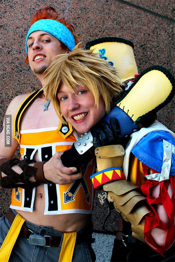 Tidus and Wakka