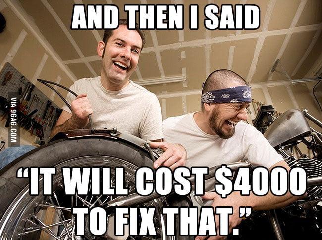 Scumbag Auto Mechanics