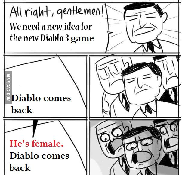All right Gentlemen - Diablo III