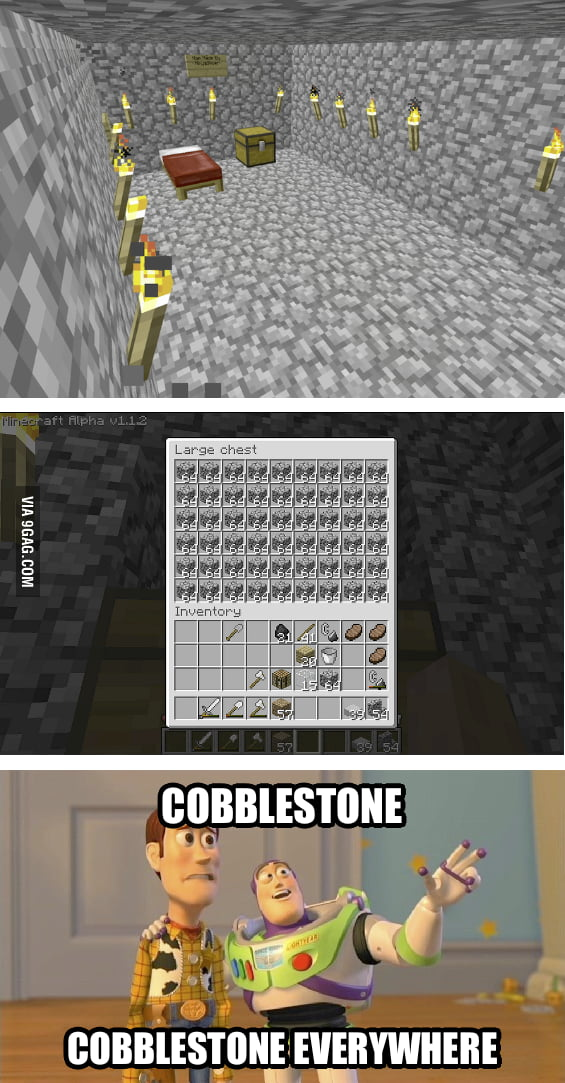Minecraft players will agree