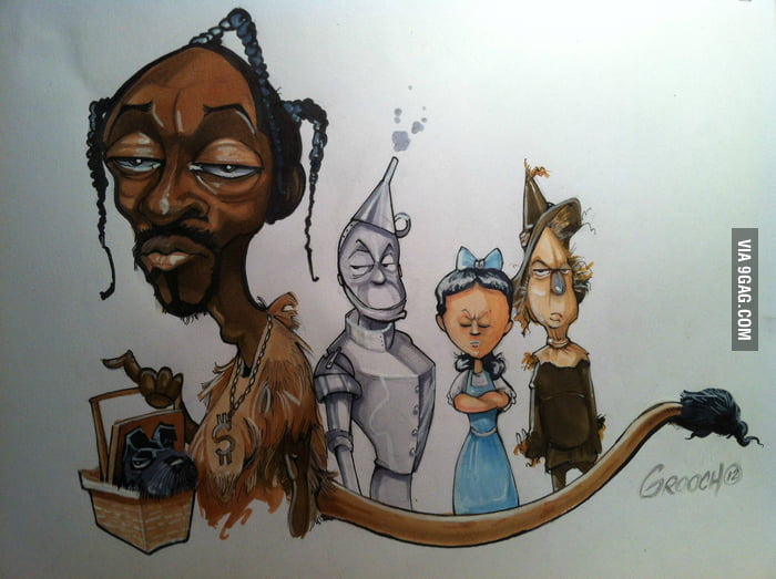 My friend drew this in response to Snoop's recent name chang