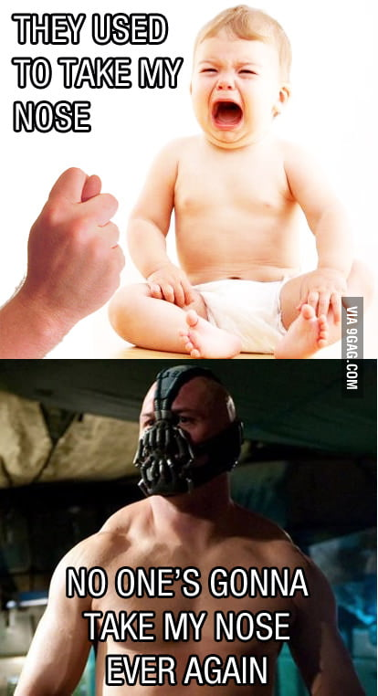 Real reason behind Bane's mask
