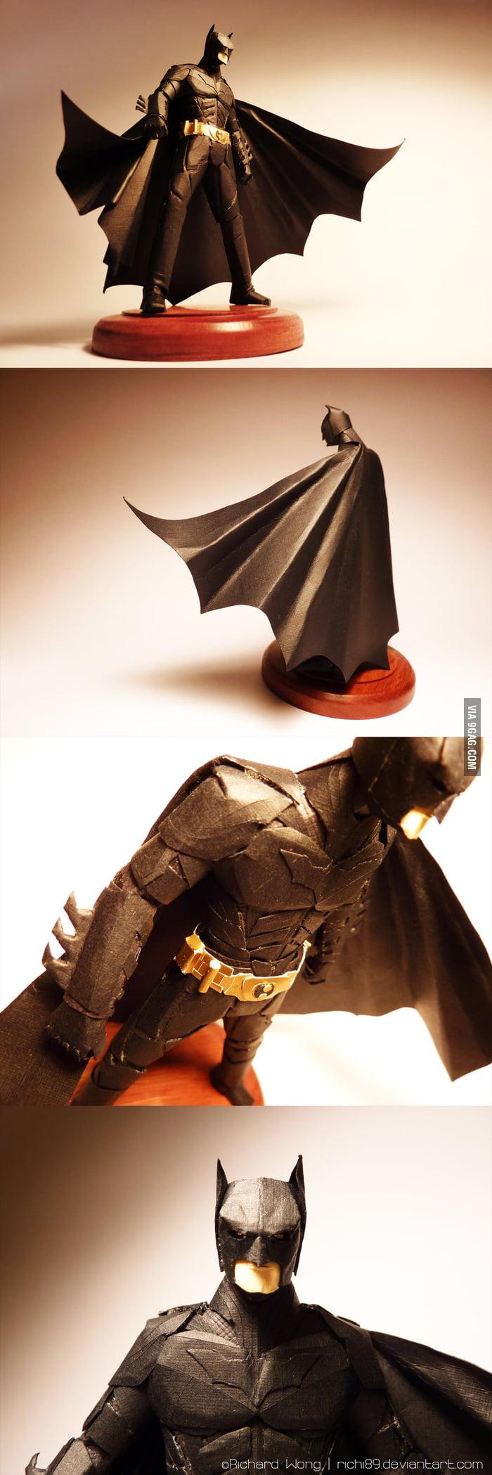 What my friend did last week - Paper Batman