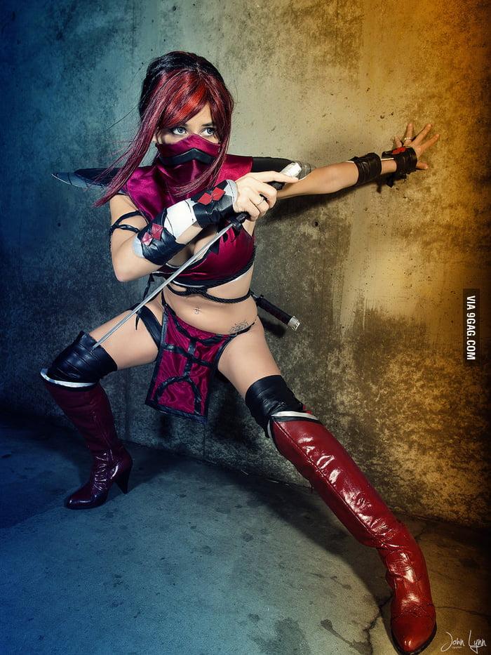 Skarlet from Mortal Kombat