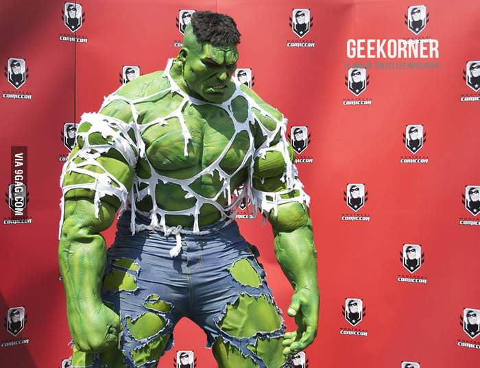 Awesome Incredible Hulk Cosply