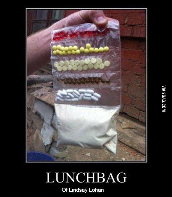 Lindsay Lohan's Lunch