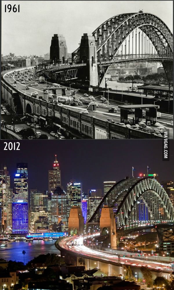 Sydney: 51 years difference