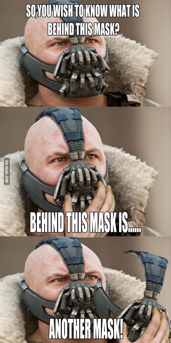 Bane's Mask.