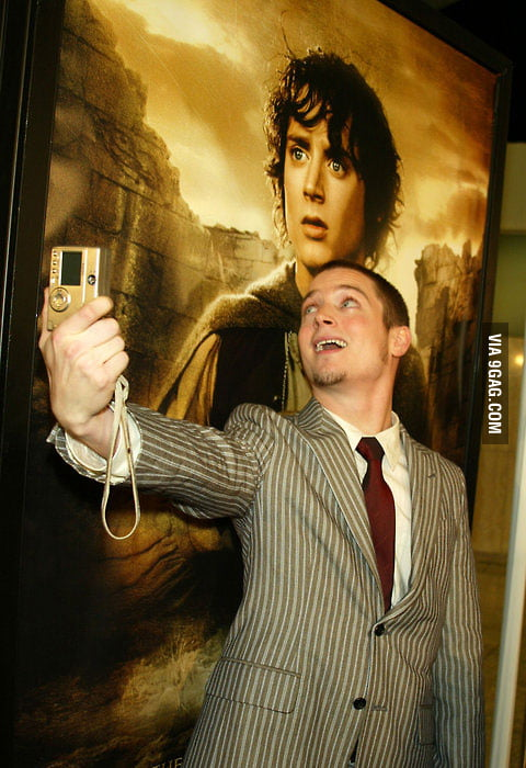 Self Portrait: Frodo and Elijah Wood