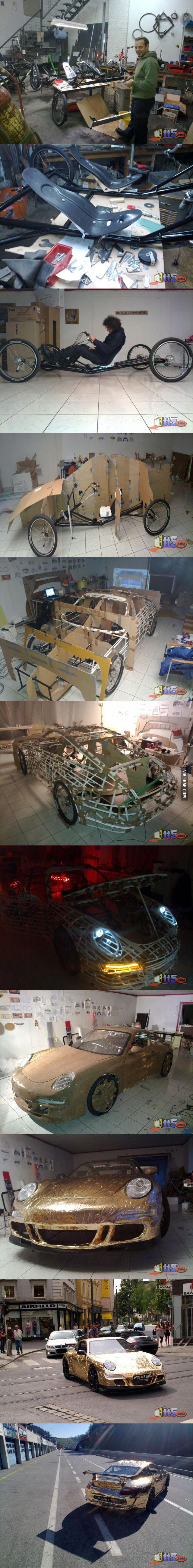Porsche car: DIY!!