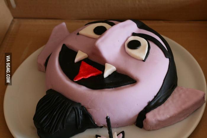 Awesome Vampire Cake!