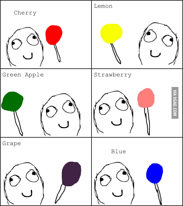 Lollipop Flavors