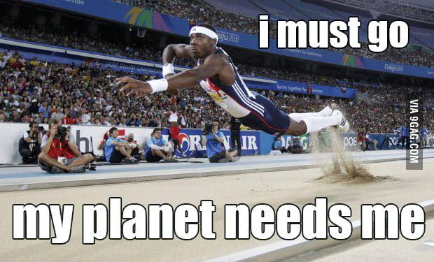 My planet needs me
