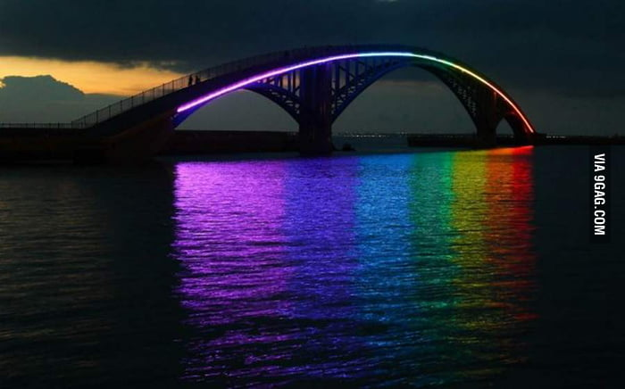 The Xiying Rainbow Bridge, Taiwan