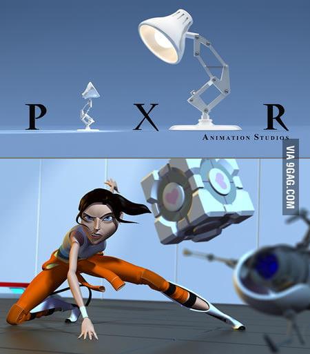 If Pixar Made a Portal Movie