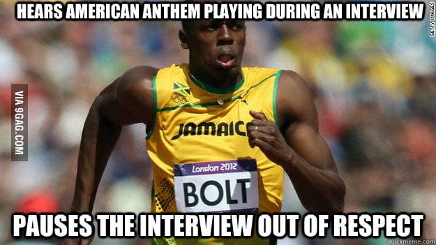 Good Guy Usain Bolt