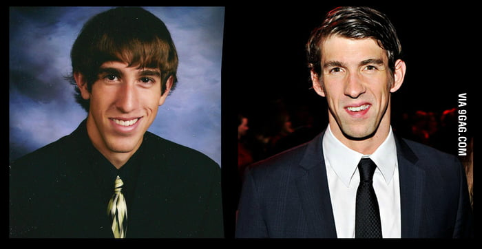 Does my friend look like Phelps?