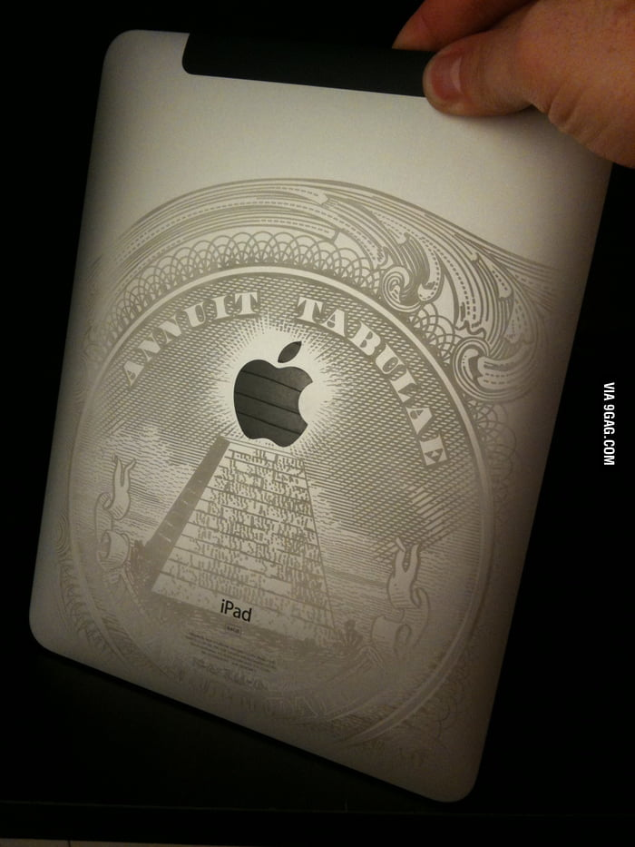 Just a dollar bill engraving for iPad
