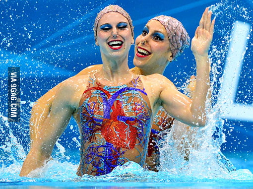 The gold medal for Most Horrifying Olympic Photo goes to...