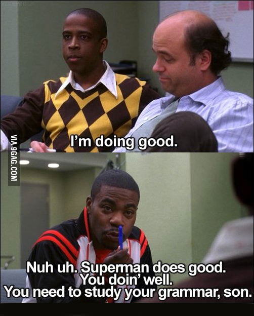 Tracy Morgan the Grammar Police