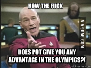 Pot and Olympics