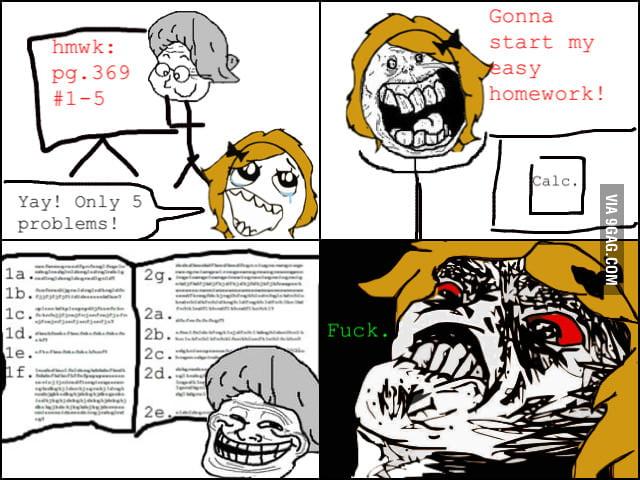 """""""Easy"""" homework"""