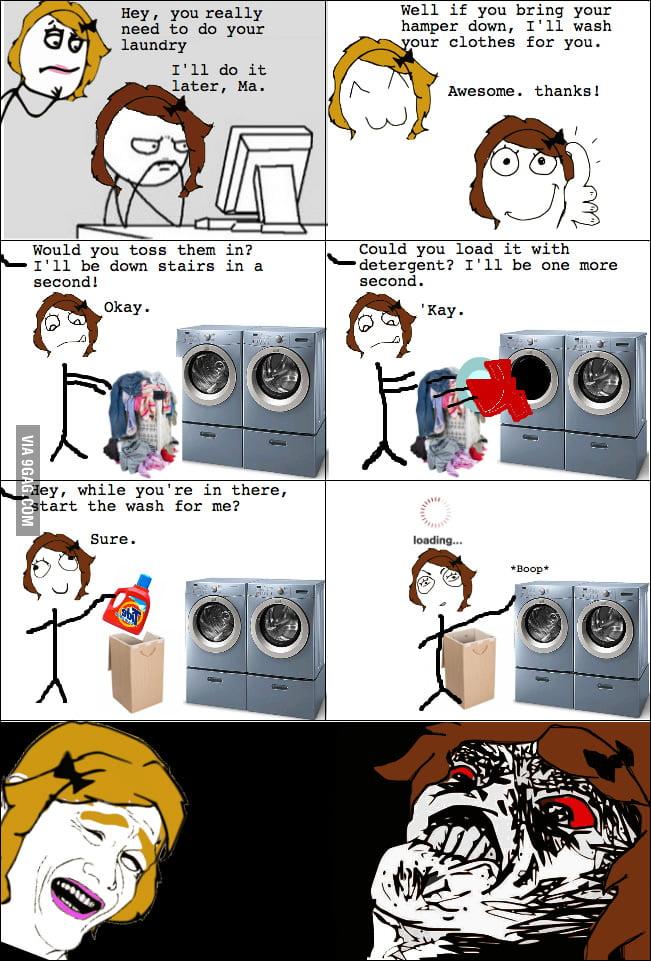 Laundry Rage