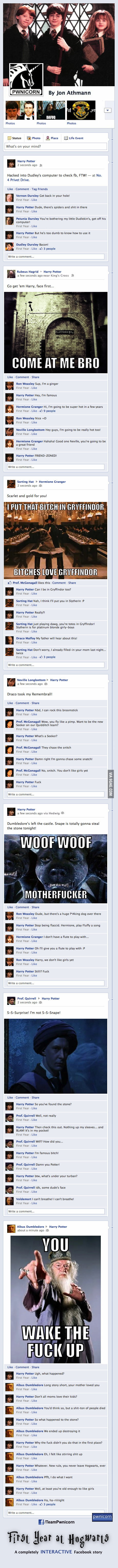 Harry Potter on Facebook