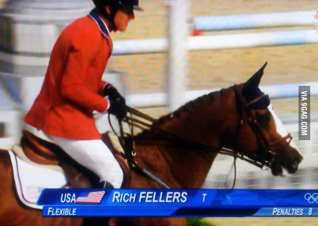 What kind of guys get into equestrian?