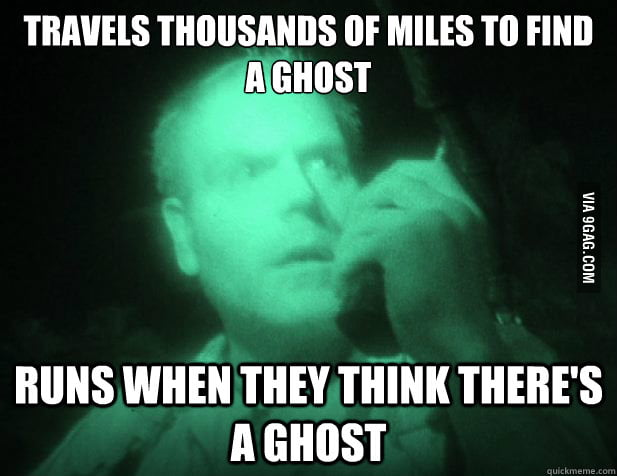 Scumbag Destination Truth