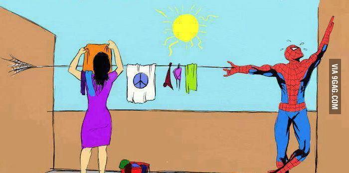 Spider-Man after marrige