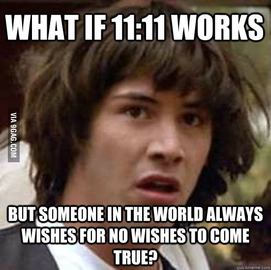 What if 11:11 works
