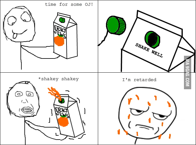 Orange Juice Rage