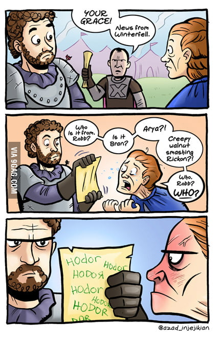 A message from Winterfell