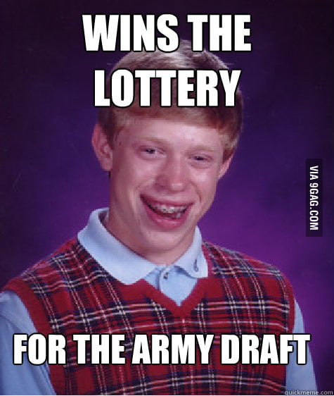 Bad Luck Brian 1 in a million...