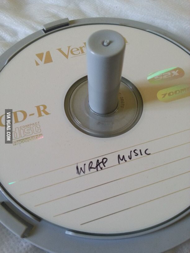 Looking through some CDs that my dad labelled