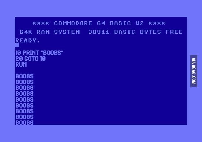 Computer programming, c.1985