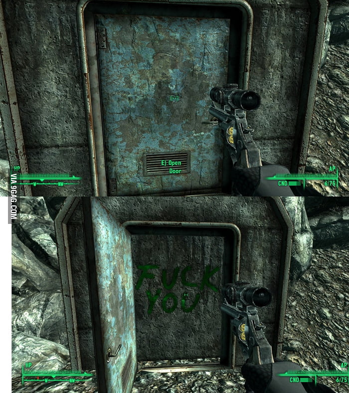 Fallout 3 does it again.