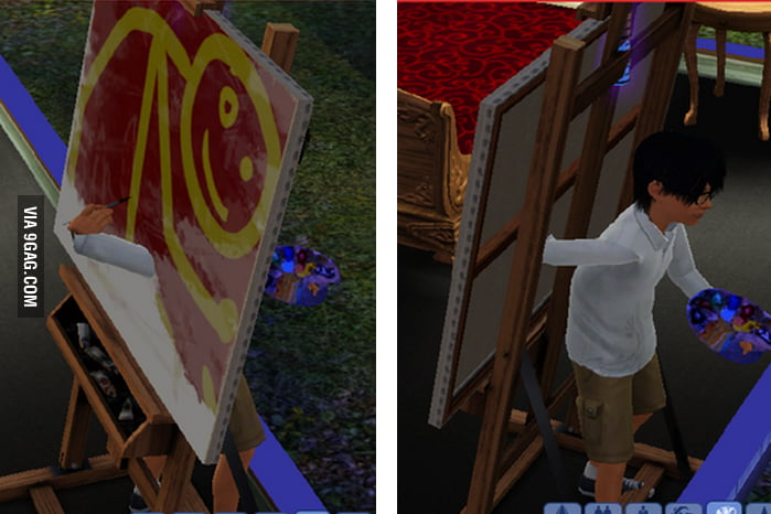 A very talented Sim