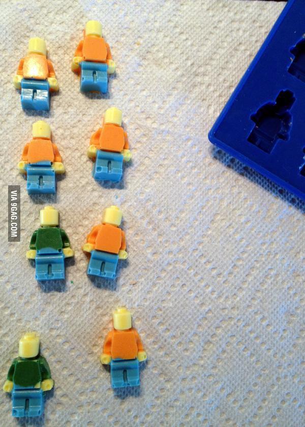 LEGO Chocolate DIY