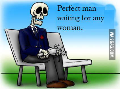 Waiting for any woman