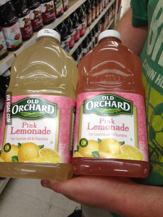 Pink Lemonade? Are you sure?