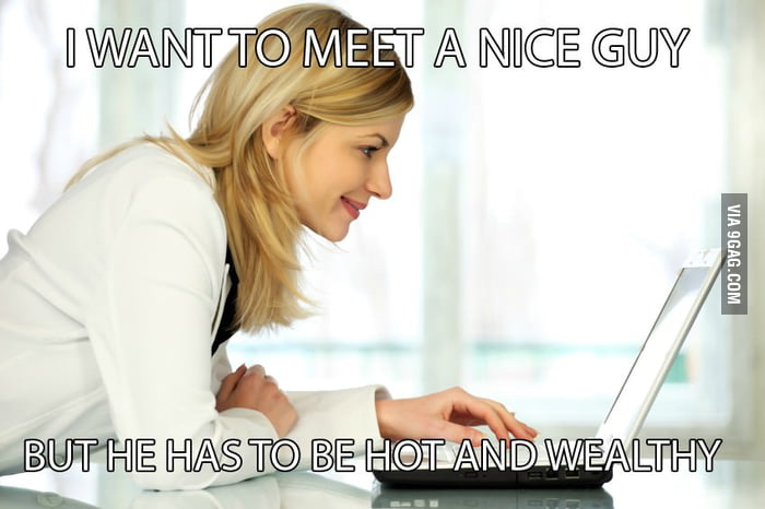 Women on dating sites