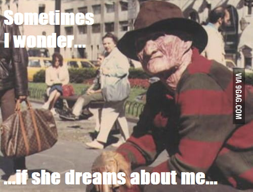 Well, It seems Freddy has a crush...wait... Freddy who?