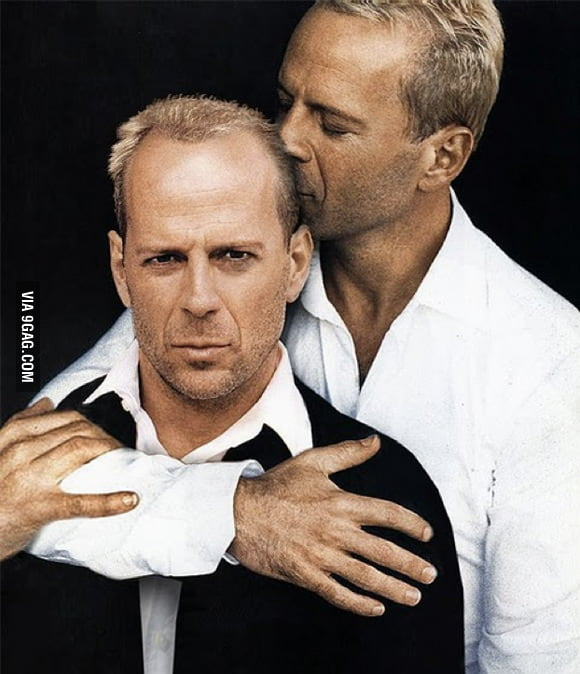 Bruce Willis loves Bruce Willis