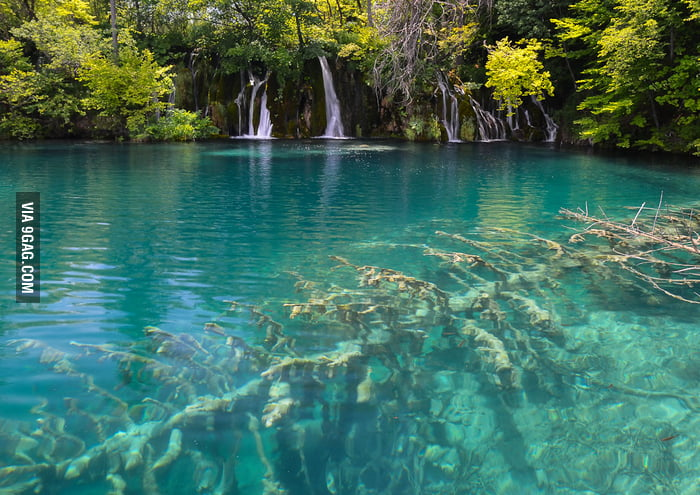 The oldest national park in Southeast Europe: Plitvice Lakes