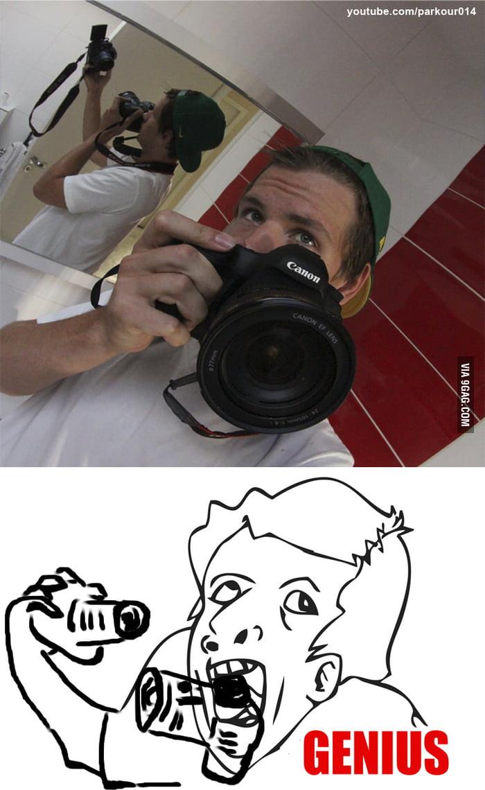 Photographer Genius Self Portrait